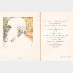 Lockwood, George, Printer's Proofs
