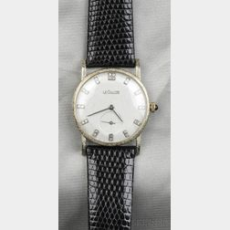 18kt White Gold and Diamond Wristwatch, LeCoultre