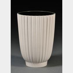 Wedgwood Norman Wilson Design Moonstone Glazed Vase