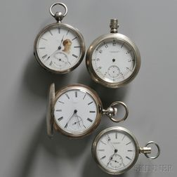 Four Howard Pocket Watches