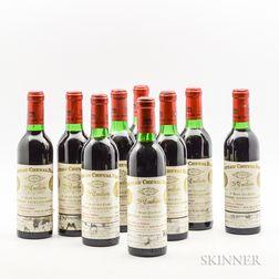 Chateau Cheval Blanc 1970, 9 demi bottles