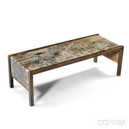 "Philip (1908-1988) and Kelvin (b. 1936) LaVerne ""Chan"" Series Table"