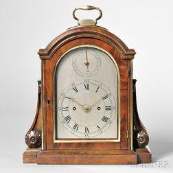 Thwaites Mahogany Table Clock