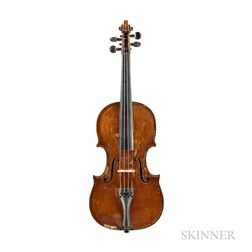 American Violin, Calvin Baker, Boston, 1873