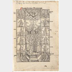 Homiliarius Doctorum de Tempore et de Sanctis a Paulo Diacono Collectus  , edited by Johann Ulrich Surgant (c. 1450-1503).