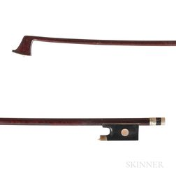 Nickel-mounted Violin Bow, Knopf School