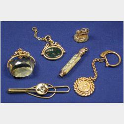 Group of Antique and Edwardian Gentleman's Items