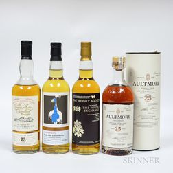 Mixed Single Malts, 4 70cl bottles