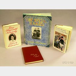 Four Kennedy and Bouvier Family Related Books