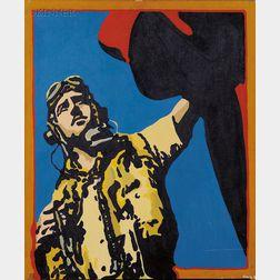 George Frayne (American, b. 1944)      The Aviator