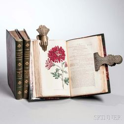 Curtis, William (1746-1799) The Botanical Magazine; or, Flower-Garden Displayed,   Six Issues bound in Three Volumes.