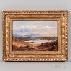 Russell Smith (Pennsylvania, 1812-1896)      Lake Winnipesaukee