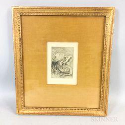 Pierre-Auguste Renoir (French, 1841-1919)      Le Chapeau Épinglé, 3e planche