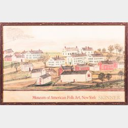 Poster of a Shaker Village