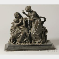 Bronze Classical Revival Figural Group
