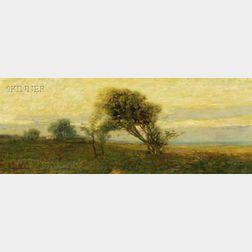 Arthur Hoeber (American, 1854-1915)      Quiet Field