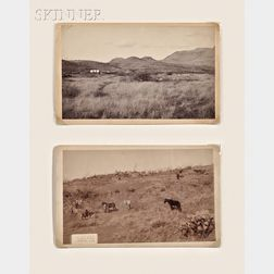 Camillus Sidney Fly (American, 1849-1901)      Lot of Two Images:  General Crook's Camp