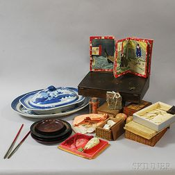 Group of Chinese and European Accessories