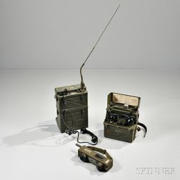 Group of WWII Communications Equipment