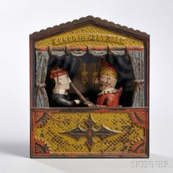 "Shepard Hardware & Co. ""Punch and Judy"" Mechanical Bank"
