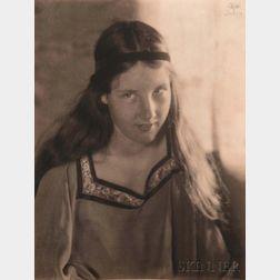 Eva Watson-Schütze (American, 1867-1935)      Portrait of a Girl