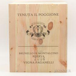 Tenuta Il Poggione Brunello di Montalcino Riserva Vigna Paganelli 2006, 6 bottles (owc)
