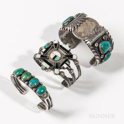 Three Southwest Bracelets