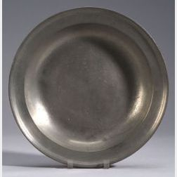 Large Pewter Charger
