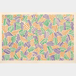 Jasper Johns, illustrator (American, b. 1930)      Foirades/Fizzles