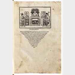 Priscianus Caesariensis [aka Priscian] (fl. AD 500) Opera Grammatica.