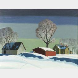 Dale Nichols (American, 1904-1989)  Silent Morning