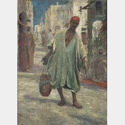 Caleb Arnold Slade (American, 1882-1961)    The Water Carrier