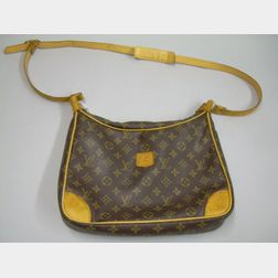 Vintage Louis Vuitton Leather Handbag