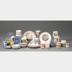 Assorted Lot of Small English Pottery Items