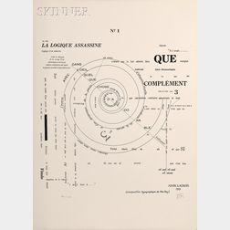 Emmanuel Radensky, called Man Ray, illustrator (American, 1890-1976)      La Logique Assassine