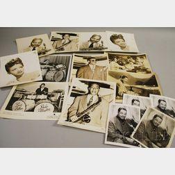 Fifteen Duke Ellington and Orchestra Members Publicity Portrait Photographs