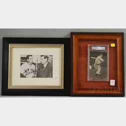 Joe DiMaggio Autographed Trading Card