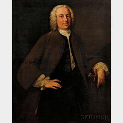 School of Thomas Hudson (British, 1701-1779)      Portrait of a Gentleman, thought to be John Porter, c. 1732-1793
