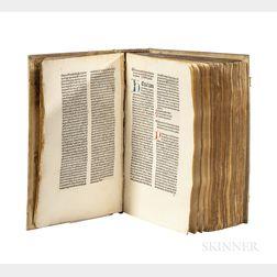 Carcano, Michael de (1427-1484) Sermonarium de Peccatis per Adventum et per Duas Quadragesimas.