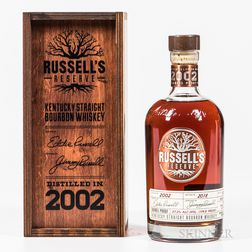 Russells Reserve 16 Years Old 2002, 1 750ml bottle (owc) Spirits cannot be shipped. Please see http://bit.ly/sk-spirits for more info.