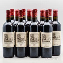 Chateau Duhart Milon 2009, 12 bottles
