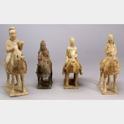 Four Tomb Figures