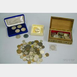 Group of Assorted U.S. and International Coinage