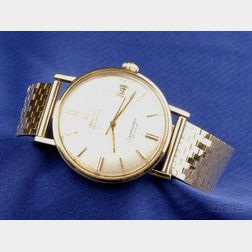 Gentleman's 14kt Gold Wristwatch, Omega