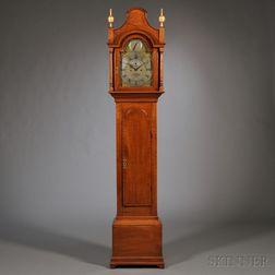 Tiger Maple Tall Case Clock