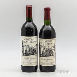 Chateau Montelena, 2 bottles