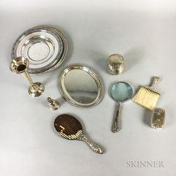 Group of Various Sterling Silver Tableware