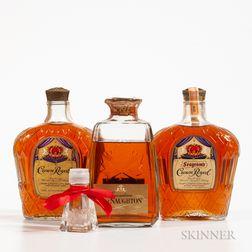 Mixed Canadian, 2 4/5 quart bottles (oc) 1 750ml bottle (oc)