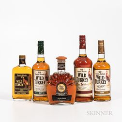 Wild Turkey, 1 liter bottle 3 750ml bottles 1 500ml bottle Spirits cannot be shipped. Please see http://bit.ly/sk-spirits for more i...