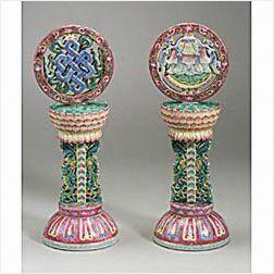 Pair of Altar Ornaments